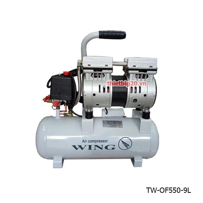 Địa chỉ bán máy nén khí mini gia đình chất lượng tại hà nội 3304_may_nen_khi_khong_dau_wing_tw_of550_9l