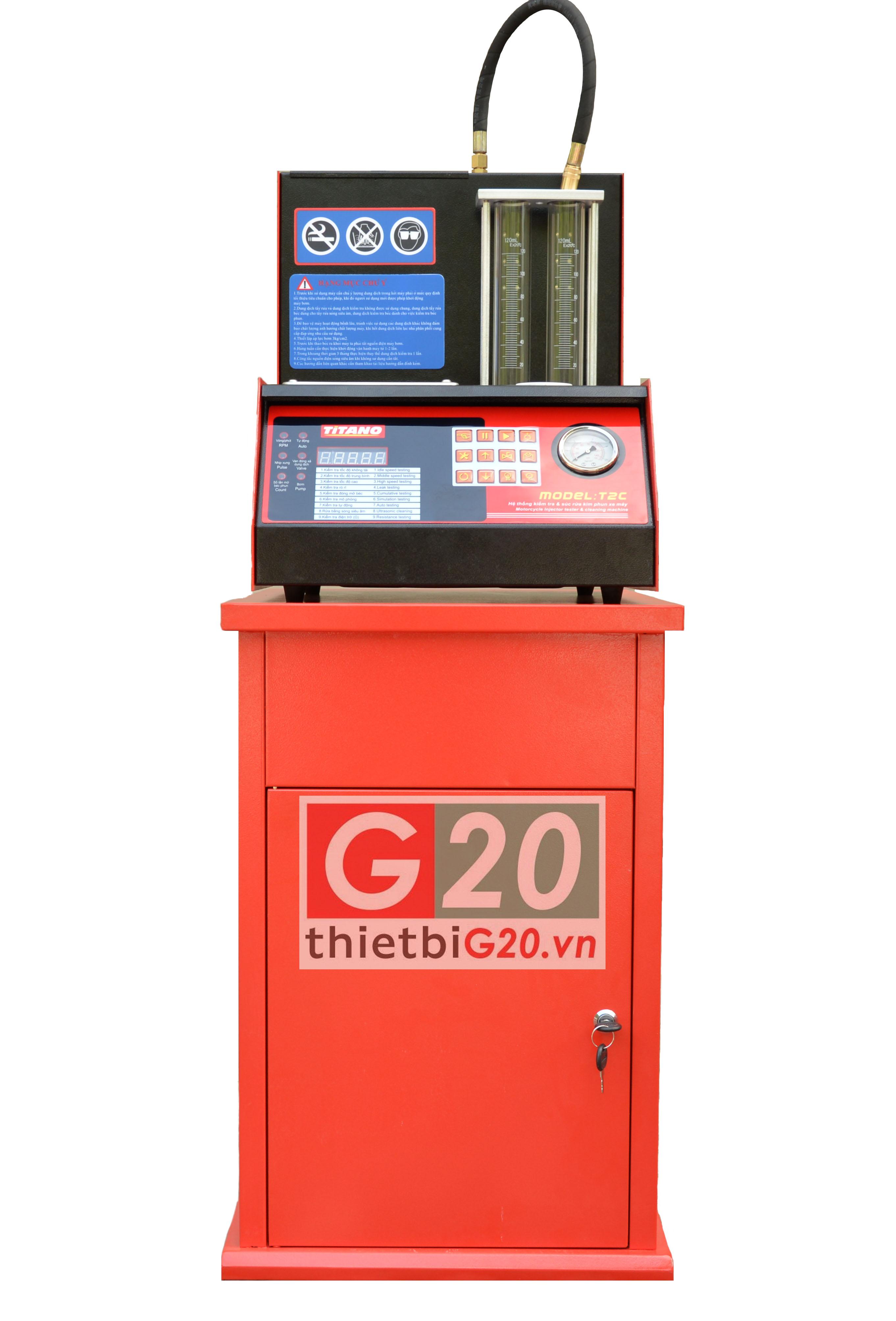 Phân phối máy súc rửa kim phun xăng điện tử giá tốt
