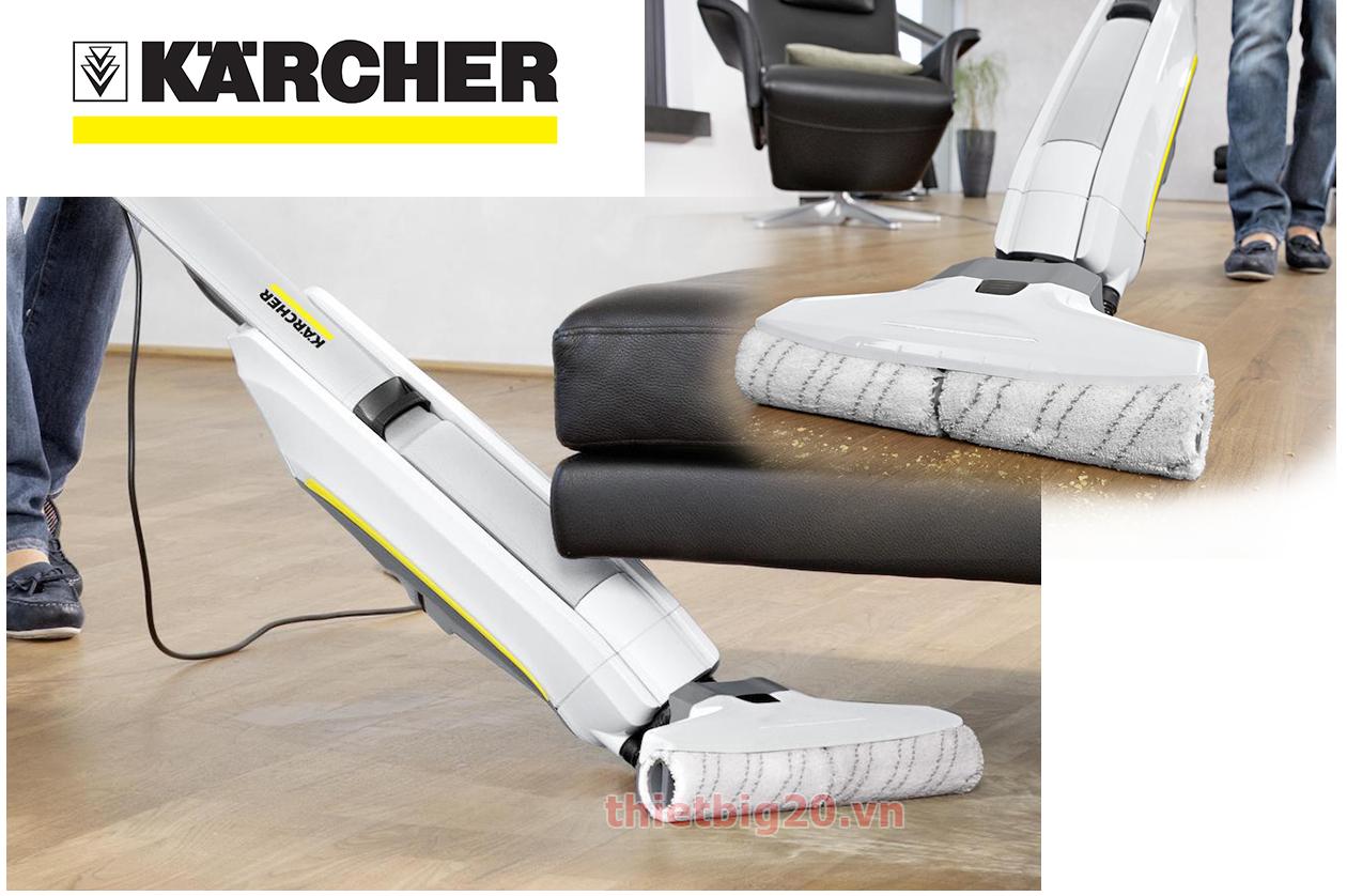 máy lau sàn của Đức Karcher FC 5 Premium
