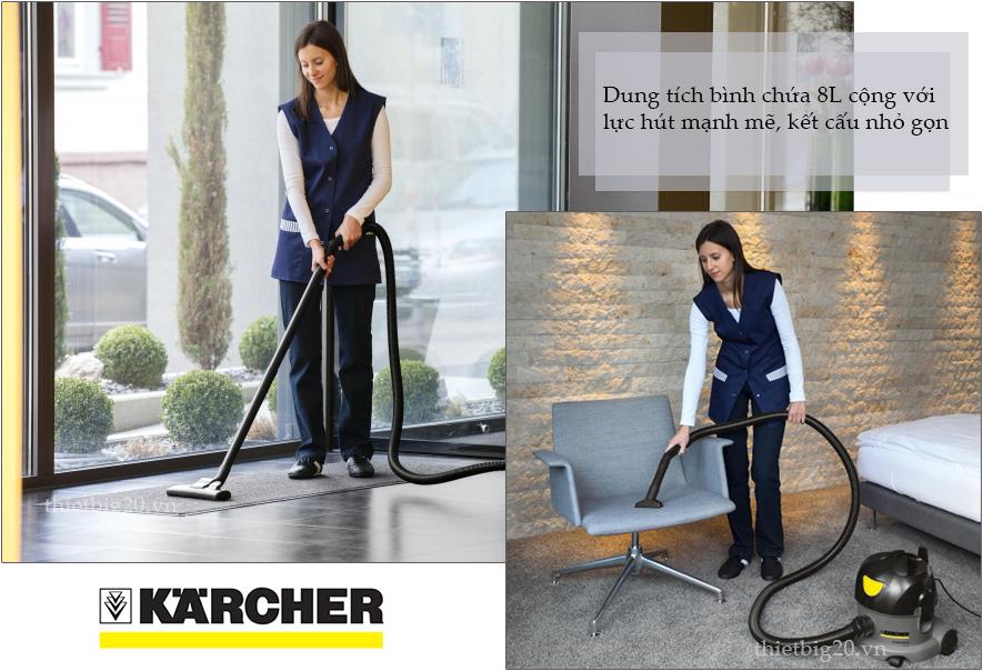Máy hút bụi rẻ -  Karcher T8/1 Classic