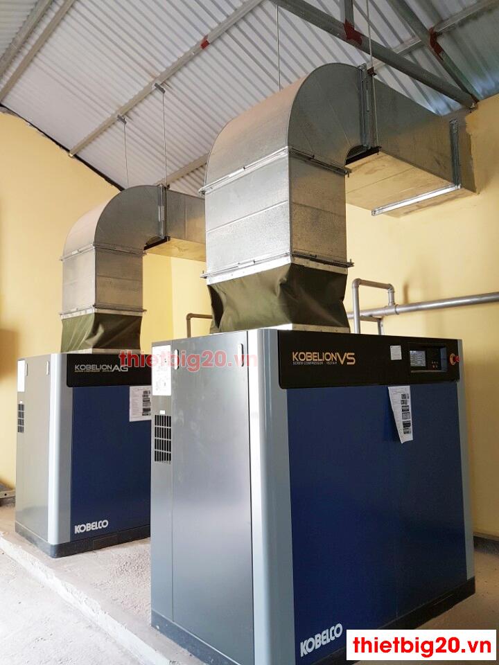 Hệ thống máy nén khí trục vít Kobelco