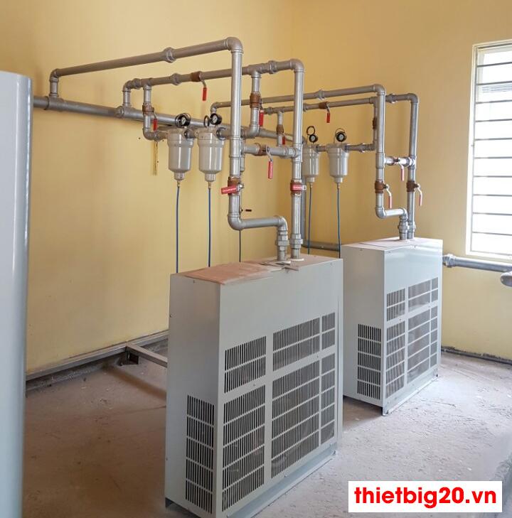 Lắp đặt hệ thống máy nén khí trục vít Kobelco đúng kỹ thuật