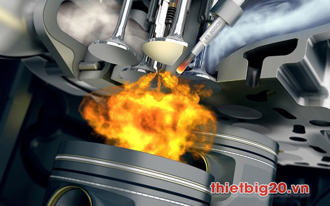 Xe máy bị nghẹt xăng