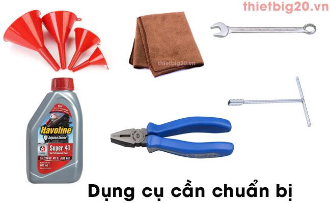 Dụng cụ thay dầu máy rửa xe