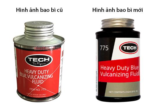 Thương hiệu TECH thay đổi bao bì sản phẩm