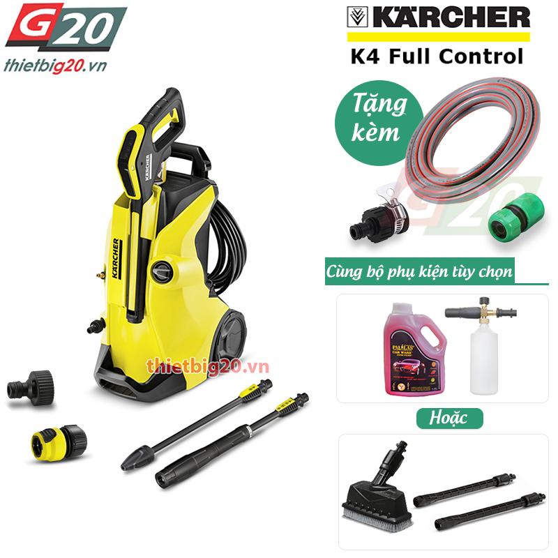 Máy rửa xe áp lực cao cho gia đình Karcher K4 Full Control EU