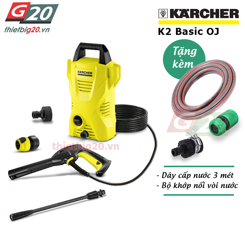 Máy rửa xe Karcher K2 Basic OJ