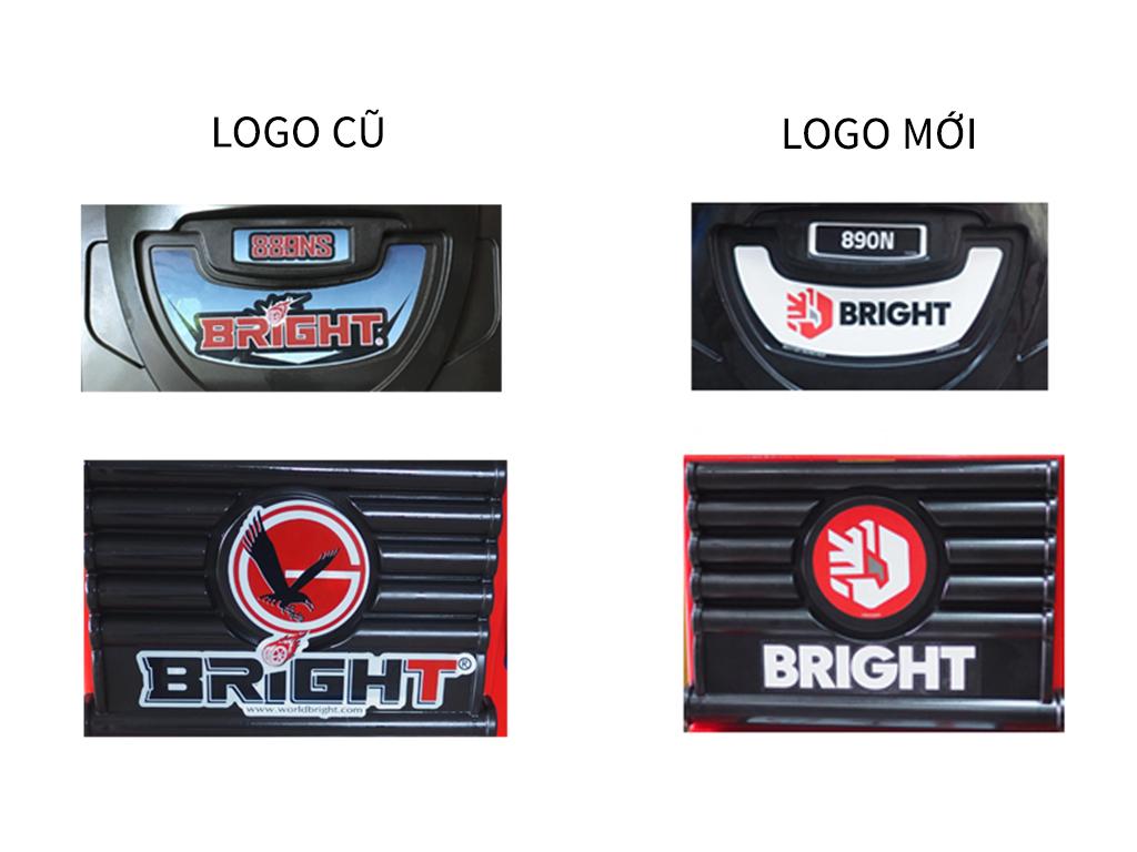 Thay đổi logo máy làm lốp